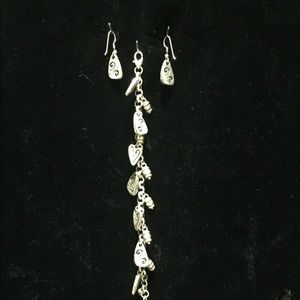 Brighton bracelet and matching earrings